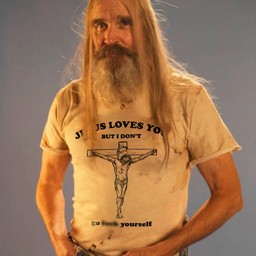 Jesus Loves You But I Don't Go F*** Yourself Funny T-Shirt Best Gift Shirt Size S-5XL